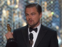Leonardo DiCaprio win his first Oscars Award for Best Actor in The Revenant