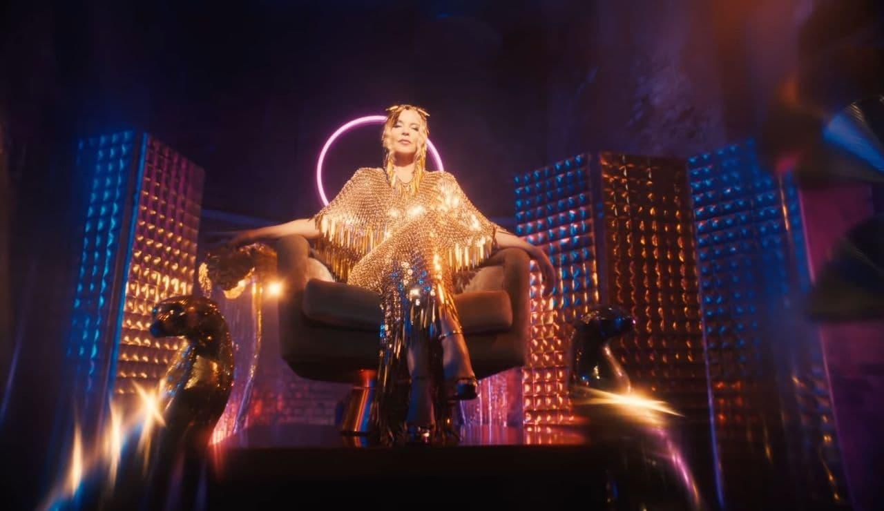 Kylie Minogue in 'Magic' Official Music Video