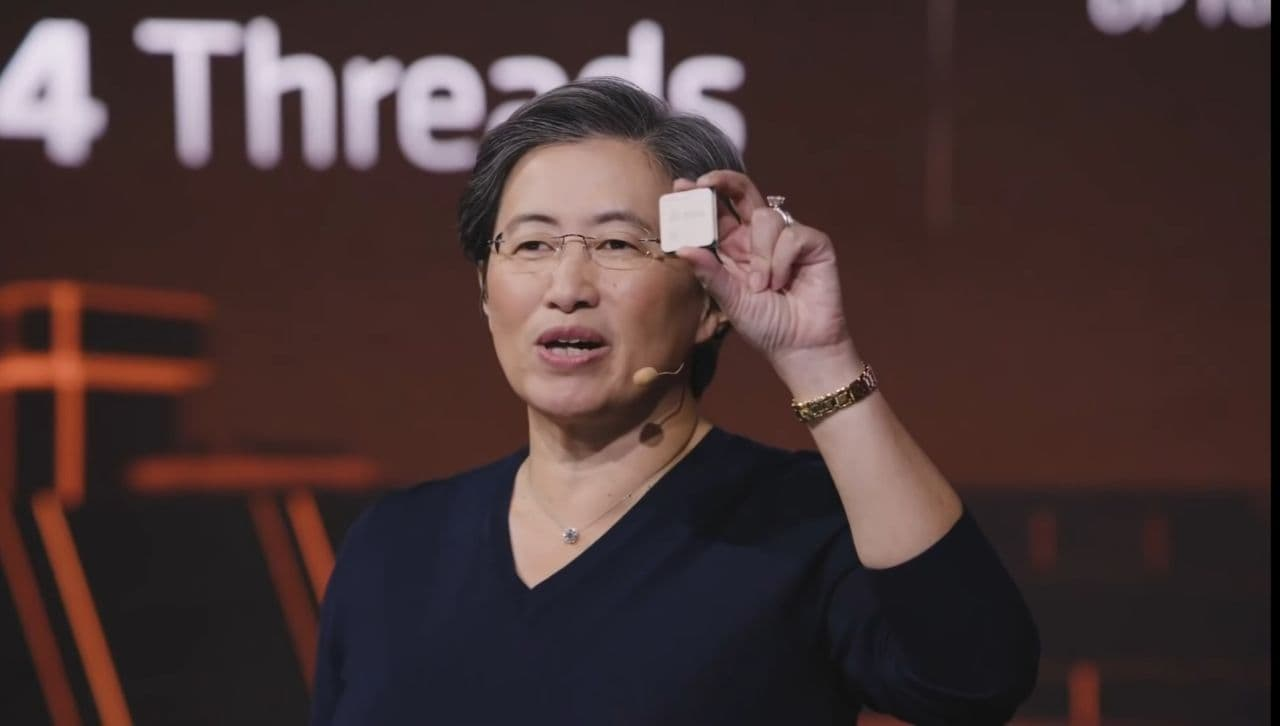 CEO Lisa Su Reveals the Ryzen 5000 for the first time