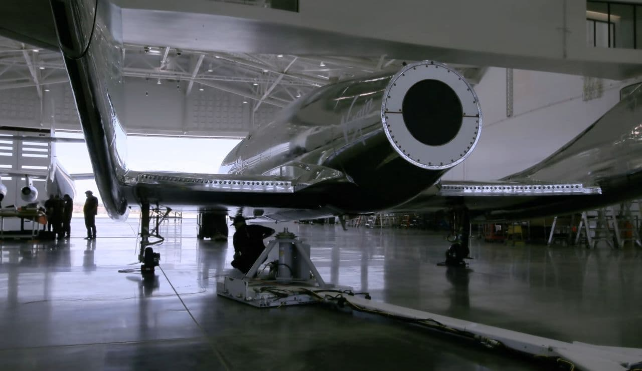 Virgin Galactic's SpaceShipTwo Unity