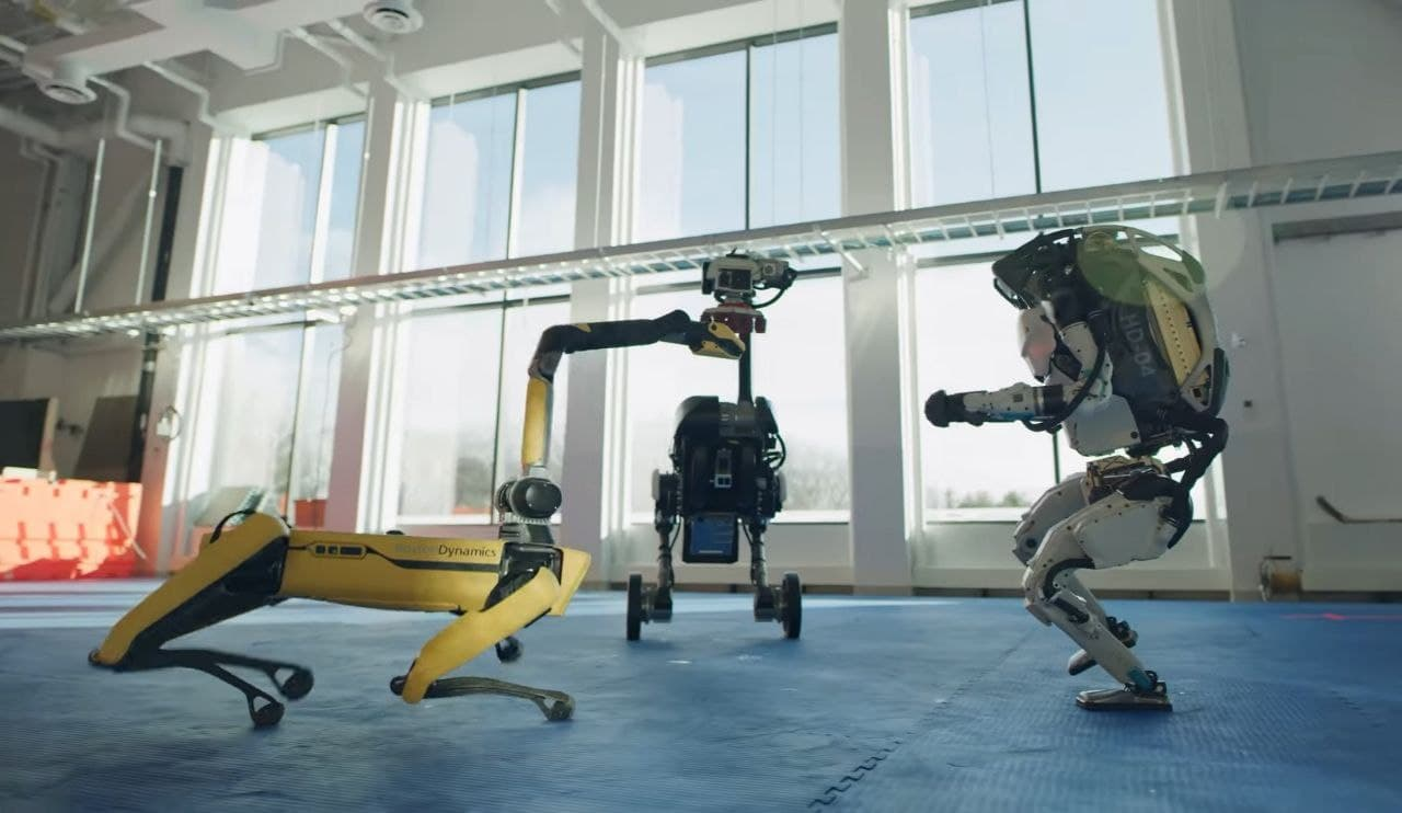 Boston Dynamics' Atlas, Spot, and Handle