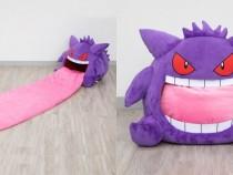 Premium Bandai Released Pokemon Gengar With Extra Soft Plush Tongue