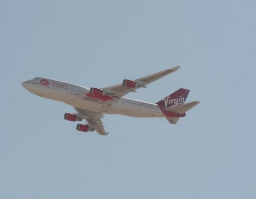 Virgin Orbit's Cosmic Girl
