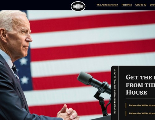 The White House Website Now Has Gone Dark