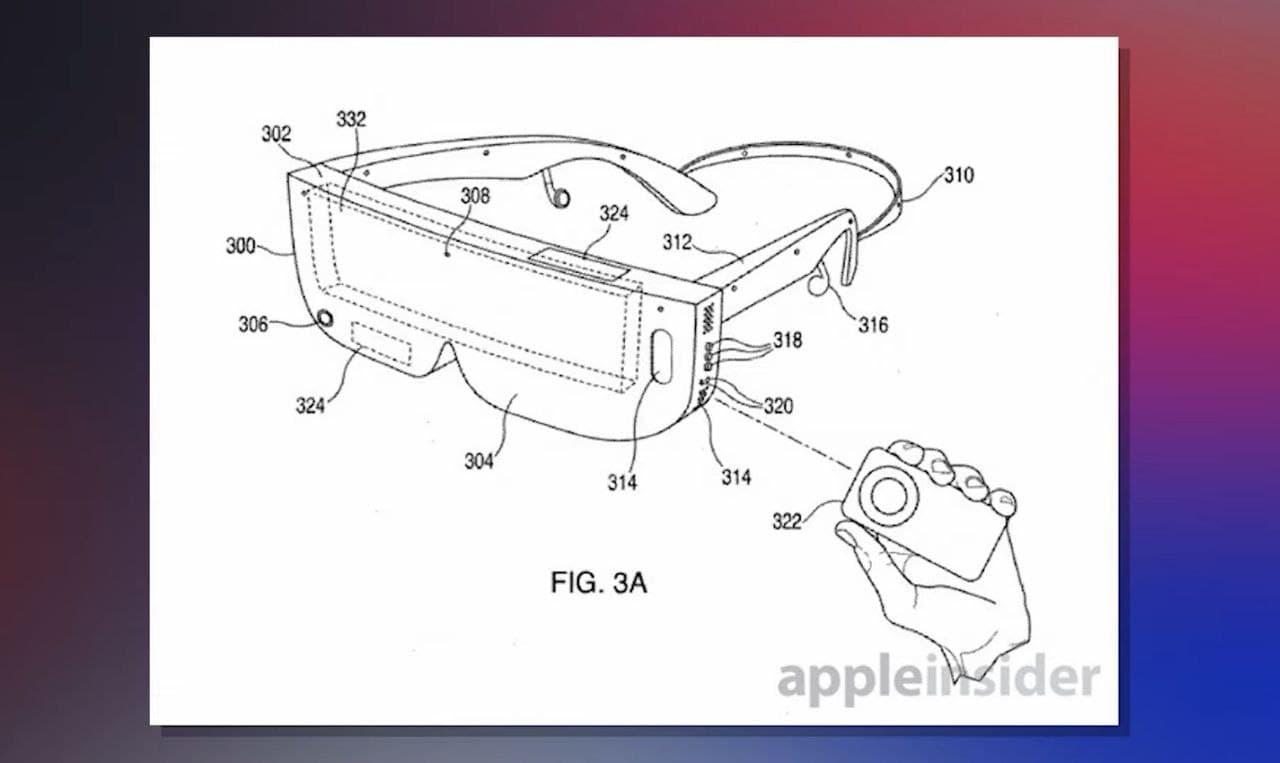 Rumored Apple VR Headset
