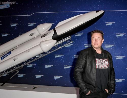 SpaceX Tesla's Rocket Burst In Flames, Again