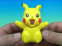 Pikachu Happy Meal Toy