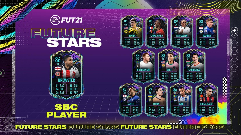 FIFA 21: How to Complete Rhian Brewster Future Stars SBC