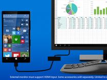 Microsoft Windows 10 Continuum for Phones