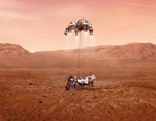 NASA Perseverance Landing