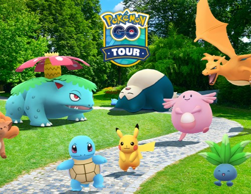 Pokemon GO Kanto Tour