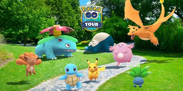 Pokemon GO Kanto Tour