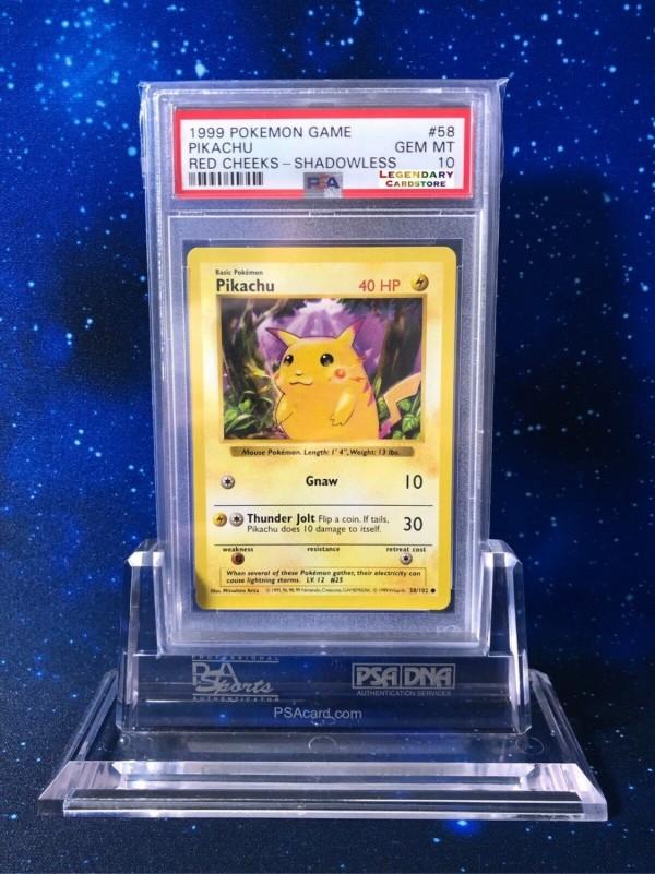 Pikachu 1st Edition