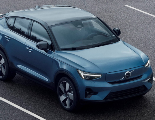 2022 Volvo C40 Recharge Gets Hype With Unique Headlight Pixel Tech-- Interior Also Gets Massive Changes!