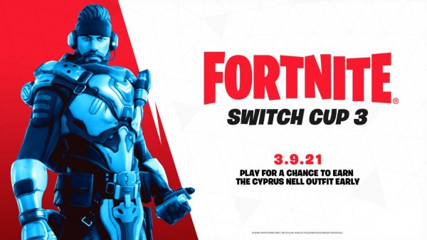 Fortnite Switch Cup 3