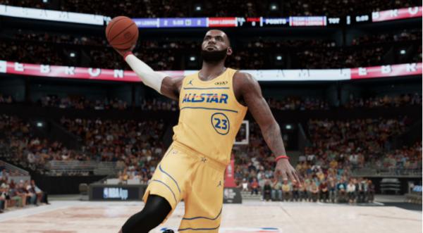NBA 2K21 LeBron James