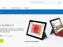 Microsoft Surface 3 on sale at Microsoft Store