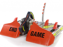 BattleBots 2020 Championship: End Game Is the Giant Nut Trophy Taker, Valkyrie Takes Most Destructive!