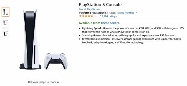 Amazon PS5 Restock March 18