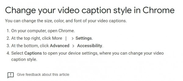 How to Turn on Chrome Captions for Audio and Video: New Feature in Your Web Browser
