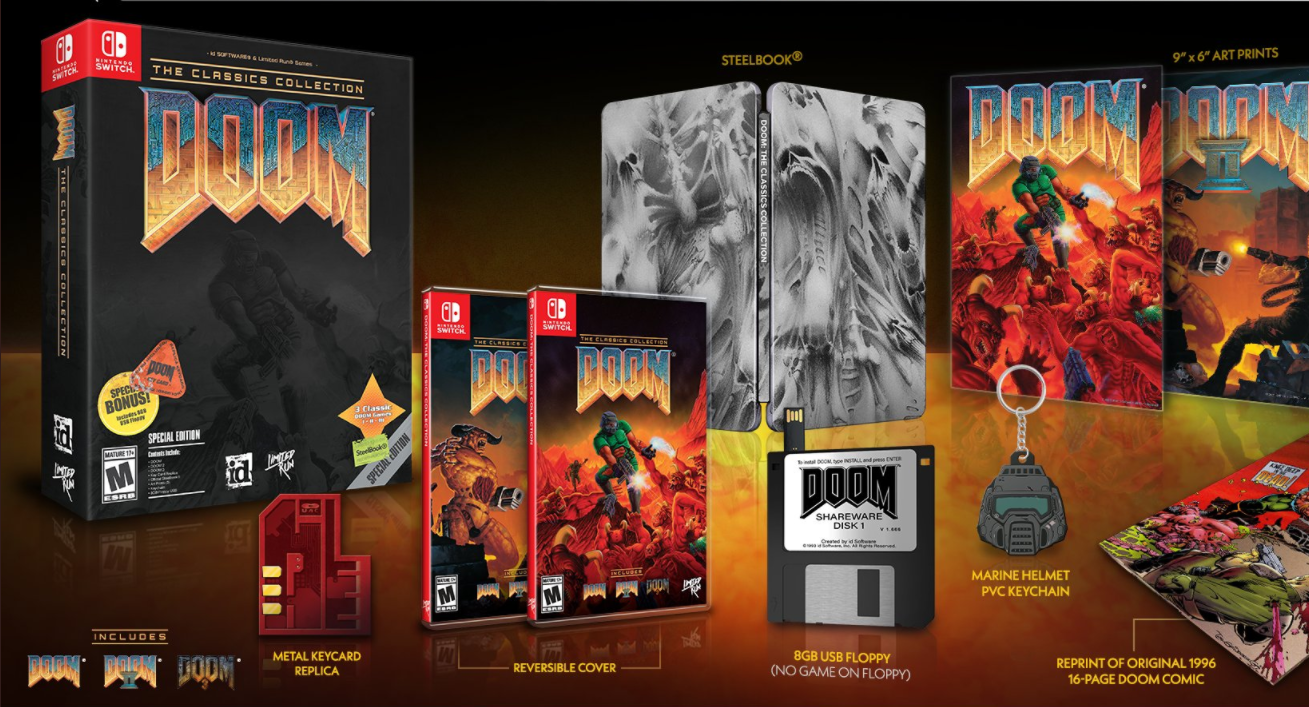 'DOOM' Nintendo Switch Collection: How to Pre-Order, Price and Package