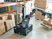 Robot for Warehouses! This Boston Dyamics Robot Can Carry and Move Boxes!
