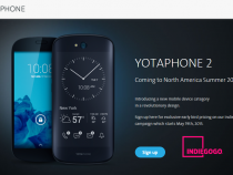 YotaPhone 2 Indiegogo campaign