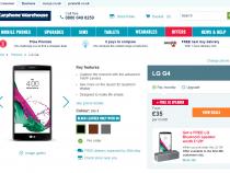 LG G4 UK pre-orders now live on Carphone Warehouse