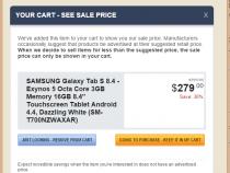 Samsung Galaxy Tab S 8.4 (Wi-Fi) on Newegg