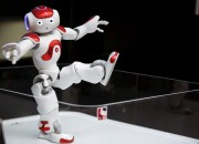 The L2TOR project uses NAO robots by Aldebaran Robotics to teach foreign kids from Europe languages before they set to school systems.