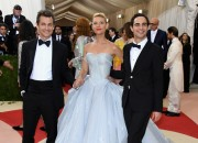 Claire Danes channeled a Disney princess in her illuminating dress.