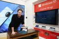 'Sisters' star Ike Barinholtz upgrades to Windows 10 from the Microsoft Flagship Store on Fifth Ave. and 53rd St. on Dec. 17, 2015 in New York City.
