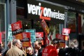 Verizon Unions Continue Strike Into Second Week