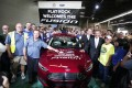 Ford Displays Its Fusion Coming Off The Assembly Line