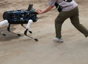 Boston Dynamics has revealed its domestic companion robot called SpotMini.