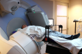 A Prostate Cancer Patient Receives Radiation Treatment