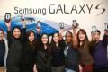 Samsung sold 100 million units of Galaxy S smartphones globally.