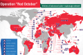 Spy operation Red October infects nearly 70 countries