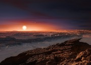 Proxima b had made the news back in August about the possibility of alien life in the exoplanet.