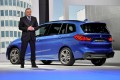 BMW CEO with the company's BMW 2 Series