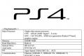 PS4 specs