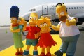 Jet Blue Unveils Aircraft In Celebration Of 'The Simpsons' Movie Release