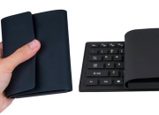 The Vensmile K8 is a keyboard that's also a full Windows computer. It is a mini PC is a Windows 10 PC built into a flexible keyboard and touchpad.