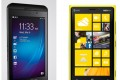 BlackBerry Z10 and Nokia Lumia 920(R)
