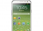 Samsung on Monday released a photo showing off the Galaxy S4 in all its glory