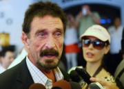 Intel is enforcing its trademark rights against the controversial John McAfee.