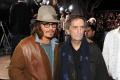 Johnny Depp and Harry Dean Stanton