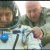 Three astronauts return to Earth after 115 days on board the International Space Station Expedition.