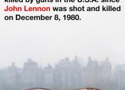 Yoko Ono posts an arresting picture of her late husband John Lennon's glasses in a bid for gun control.