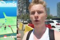 CATCHING POKEMON ON BARCELONA's BEACH!